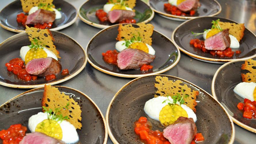 Krefelder Gourmetabend Fleischerei Catering Martin Hauser Krefeld
